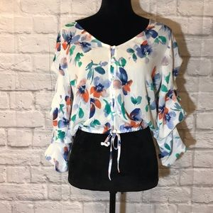 NWT Jack by BB Dakota Giselle floral crop top 🌺